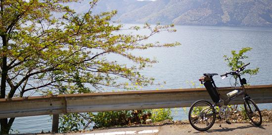 自転車で琵琶湖一周